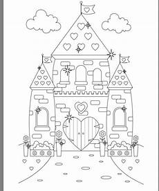 princess castle colouring page castle coloring page