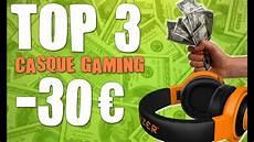 photos moins cher top 3 casque gamer pas cher a moins de 30 pc consoles