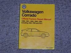 service repair manual free download 1991 volkswagen corrado engine control 1991 vw volkswagen corrado factory shop workshop service repair manual g60 ebay