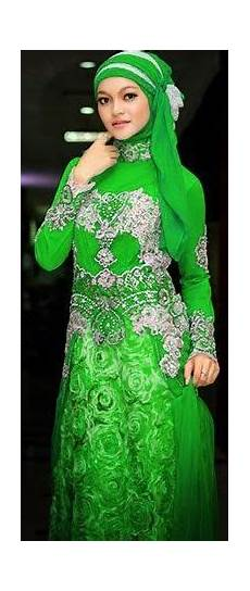 Model Kebaya Muslim Hijau Model Kebaya Modern