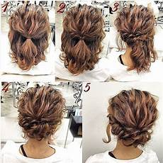 easy updos for short hair to do yourself hair
