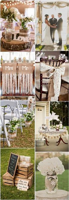 country rustic wedding ideas burlap lace wedding theme ideas tulle chantilly wedding blog