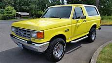 small engine maintenance and repair 1988 ford bronco ii free book repair manuals 1988 ford bronco custom 4x4 rare 4 9l inline 6cyl 137k original miles no reserve for sale in