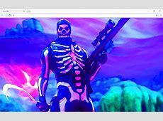 Fortnite skull trooper Backgrounds & Themes   Chrome Web Store