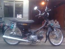 Honda Prima Modif by Kriwul Motorcycle Modification Honda Astrea Prima Tahun 91