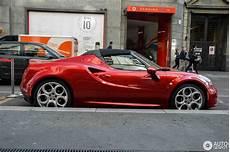 Alfa Romeo 4c Spider 30 August 2017 Autogespot