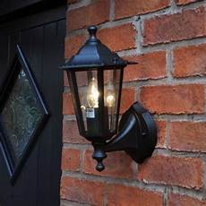 outdoor traditional victorian wall lantern 240v garden security light l out5 ebay