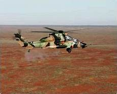 laser biscarrosse helicopters tiger get 68 mm guided missiles rpm