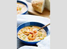 shrimp and corn chowder_image