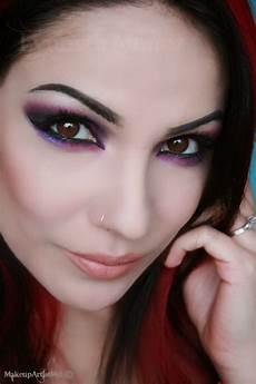 make up artist me you re so violet a purple smokey