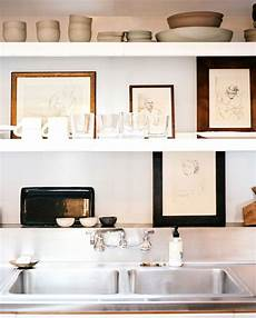 Interior Shelves by Tips For Stylishly That Open Kitchen Shelving
