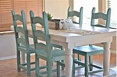 painted kitchen table and chairs color combo for dining room gray walls home sweet home