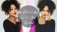 updated natural hair wash day routine youtube