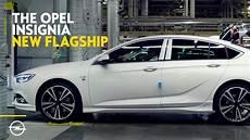 Opel Era 2017 - the opel insignia production begins