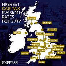 Car Tax 2020 Road Tax Evasion Rates Are Described As