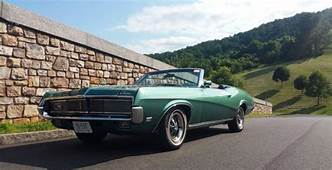 Mercury Cougar Convertible 1969 Medium Emerald Metallic