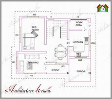 fresh small home plans kerala model house plans a small kerala house plan home design floor plans