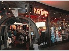 online stores like hot topic