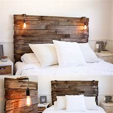 Rückwand Bett Selber Bauen - my recycled rustic fence pailing timber bedhead l