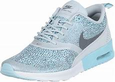nike air max thea print w shoes turquoise grey