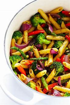 easy balsamic veggie pasta gimme some oven