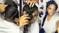 butterfly braid natural hair youtube