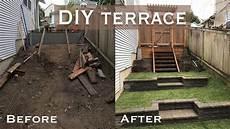 Diy Yard Ideas How To Build A Terrace Wall Yourself