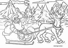 Rentier Weihnachtsmann Malvorlage Weihnachtsmann Malvorlage Kinderbilder