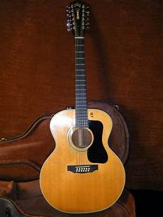 Vintage 1974 Guild 212 12 String Acoustic Guitar W Ebay