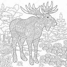 Malvorlage Weihnachten Elch Ausmalbild Elch Malvorlage Tiere Ausmalbilder Kostenlos 19