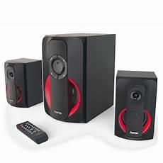 hama 2 1 soundsystem m fernbedienung bluetooth usb sd f 252 r