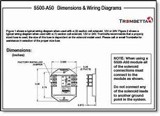 trombetta s s500 a50 a60 and a70 are solid state electronic controls for single or dual winding
