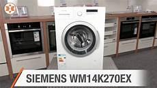 Siemens Waschmaschine Wm14k270ex Jubil 228 Ums Angebot Der