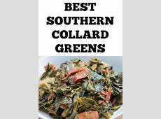 southern style collard greens with bacon