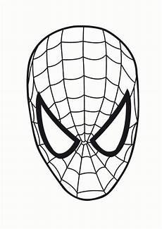 ausmalbild maske superhelden malvorlagen