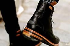 Boots Homme Mode Bottes Moto Clarks X Norton Leather Boots Style En