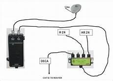 directv wiring diagram swm