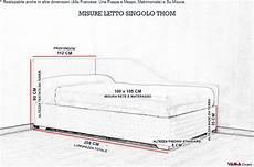 misura materasso singolo letto singolo contenitore per la cameretta con due testiere