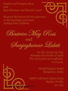 Indian Wedding Invite Wording indian wedding invitation wording sles wordings and