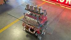 V8 Engine Table Glass Tabletop Flathead Z20 Kissimmee 2017