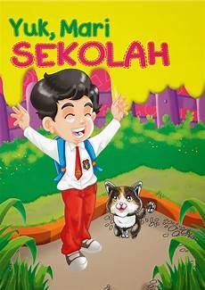 Contoh Cover Buku Anak Dibuat Menggunakan Adobe Photoshop