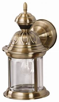 country cottage bridgeport brass motion sensor outdoor wall light traditional