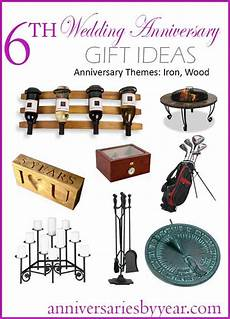 Gift Ideas For 6th Wedding Anniversary