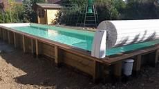 couloir de nage hors sol bois enrouleur hors sol couloir de nage vercors piscine