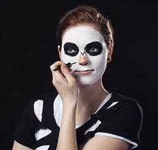 schminkanleitung skelett