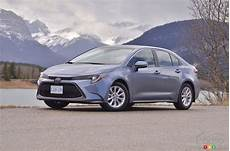 drive of the 2020 toyota corolla car reviews auto123