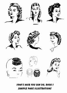 1940hair 2 1940 hairstyles hair pinterest vintage