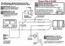 draw tite brake controller 5100 does not have power after switching out goosenecks a 1999