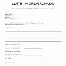 widerrufsformular muster muster widerrufsformular madeleine issing