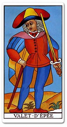 Bube Der Schwerter - page of swords tarot meaning finances future yes